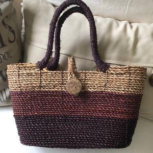 Handbags - Bahamian straw bag